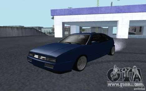 Volkswagen Corrado for GTA San Andreas back view