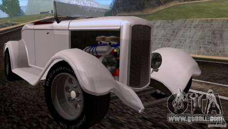 Ford Roadster 1932 for GTA San Andreas left view