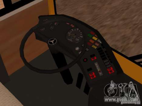 Mercedes-Benz O305 for GTA San Andreas right view