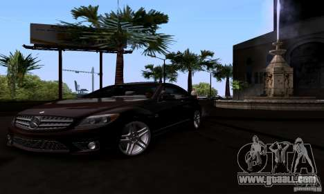 Mercedes-Benz CL65 AMG E.U. for GTA San Andreas right view
