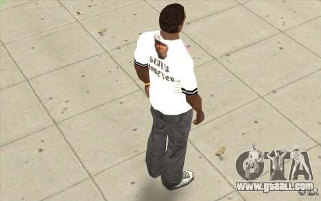 T-shirt: Exuberant Slavik for GTA San Andreas forth screenshot