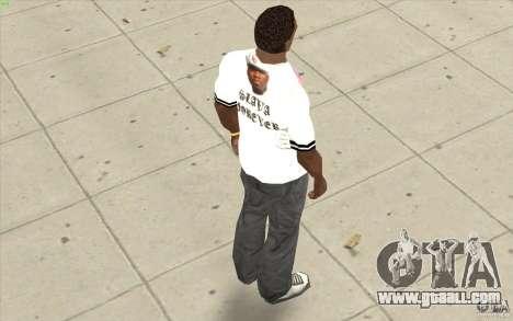 T-shirt: Exuberant Slavik for GTA San Andreas forth screenshot