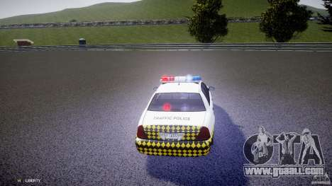 Ford Crown Victoria Karachi Traffic Police for GTA 4 side view