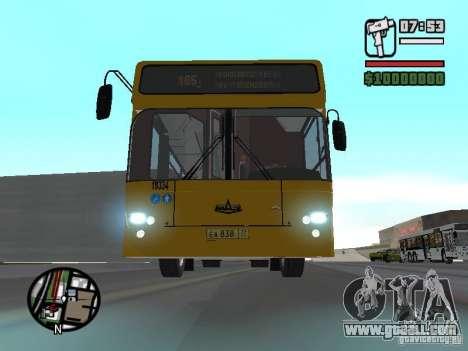 Maz 107.466 for GTA San Andreas
