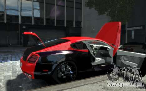 Bentley Continental SS MansorY for GTA 4 wheels