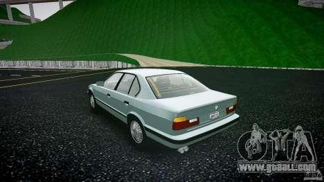 BMW 535i E34 for GTA 4 back left view