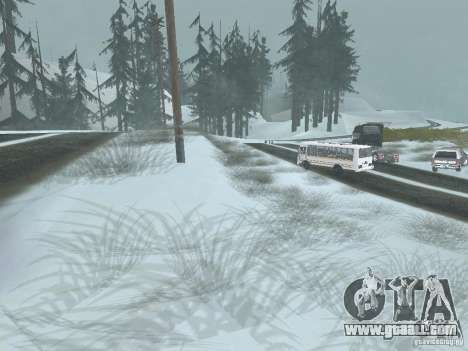Winter for GTA San Andreas second screenshot