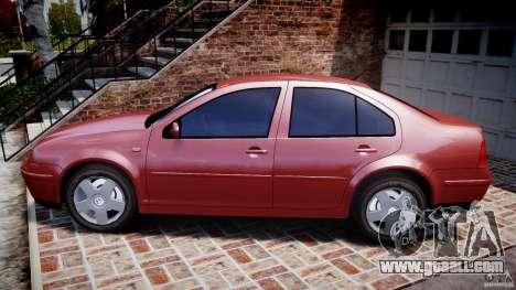 Volkswagen Bora for GTA 4 left view