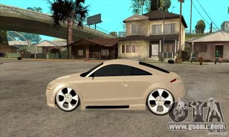 Audi TT Quattro 2007 for GTA San Andreas left view