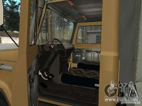 GAZ 3309 CR v2 for GTA San Andreas back view
