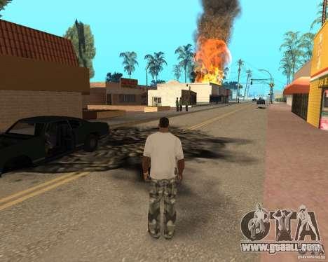 Tornado for GTA San Andreas eighth screenshot