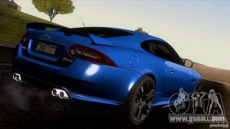 Jaguar XKR-S 2011 V1.0 for GTA San Andreas interior