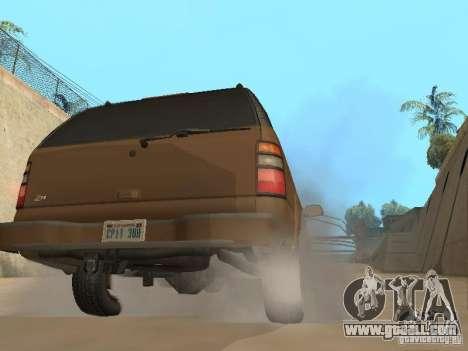Chevrolet Suburban 2003 for GTA San Andreas right view