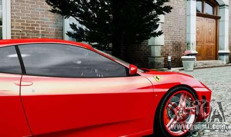 Ferrari F430 for GTA 4 back view