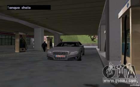Tanker car at gas station for GTA San Andreas forth screenshot