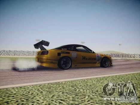 Nissan Silvia S15 Drift for GTA San Andreas inner view
