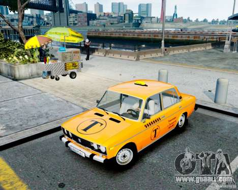 VAZ 2106 Taxi for GTA 4