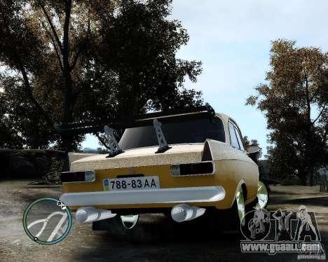 Moskvič 412 Street Racer [Alpha] for GTA 4 right view