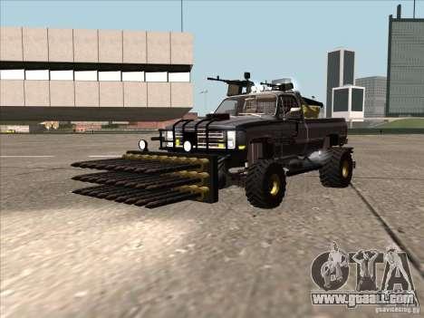 Chevrolet Hunter for GTA San Andreas back left view