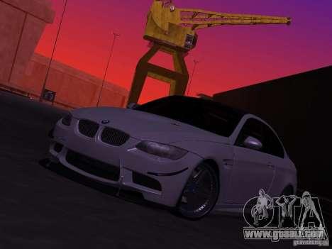 BMW M3 E92 Drift for GTA San Andreas
