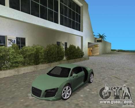 Audi R8 4.2 Fsi for GTA Vice City