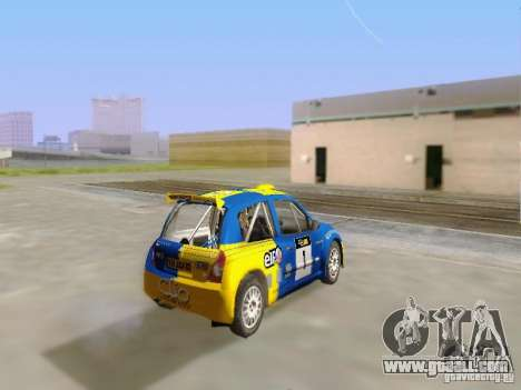 Renault Clio Super 1600 for GTA San Andreas left view
