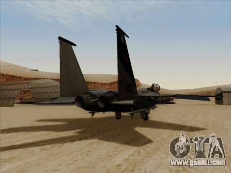 F-15C for GTA San Andreas left view