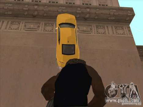 Riding on walls for GTA San Andreas forth screenshot