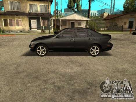 Lexus IS300 for GTA San Andreas right view