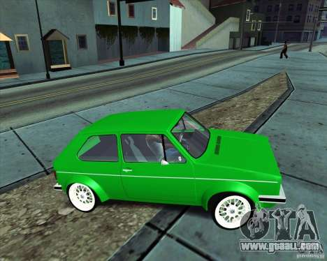 Volkswagen Golf MK 1 for GTA San Andreas right view