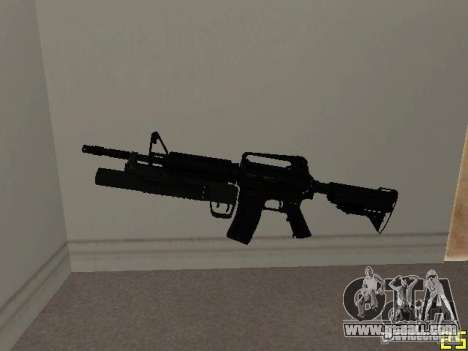M4 MOD v5 for GTA San Andreas