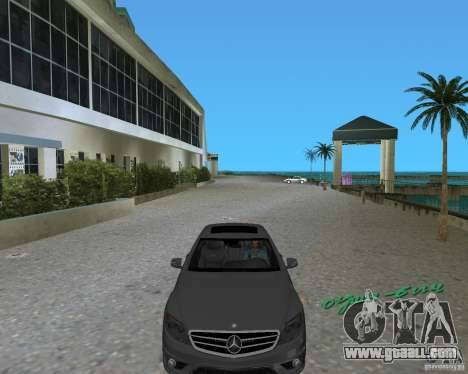 Mercedess Benz CL 65 AMG for GTA Vice City back left view