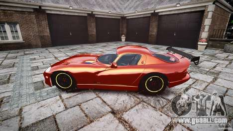 Dodge Viper 1996 for GTA 4 left view
