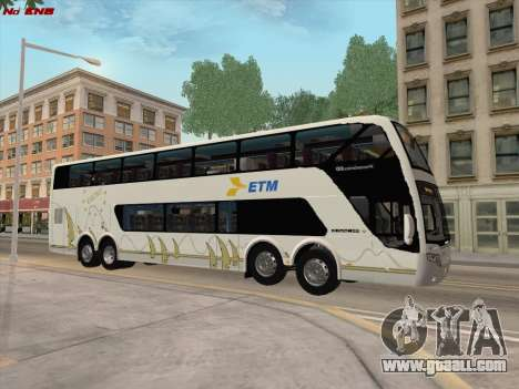 Busscar Panoramico DD 8x2 for GTA San Andreas