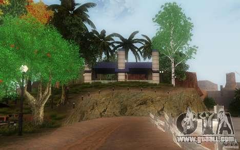 New Country Villa for GTA San Andreas ninth screenshot