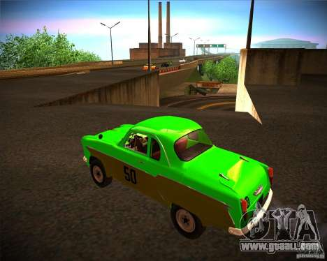 Moskvitch 407G for GTA San Andreas left view