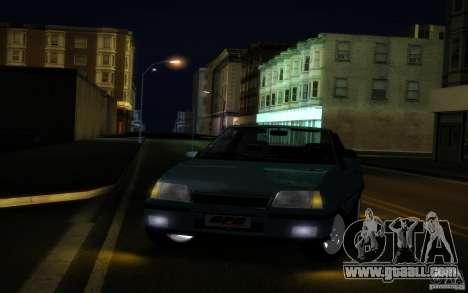 Chevrolet Kadett GSI Cabrio for GTA San Andreas inner view