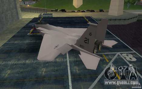 F-15 for GTA San Andreas left view