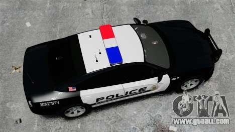 Dodge Charger 2013 Police Code 3 RX2700 v1.1 ELS for GTA 4