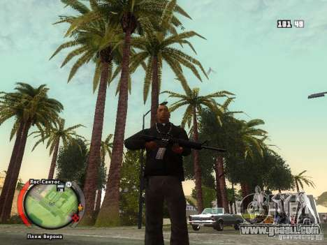 New HUD by shama123 for GTA San Andreas fifth screenshot