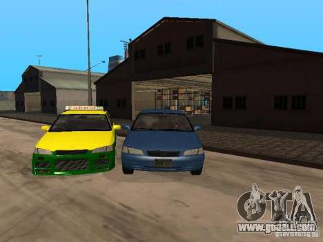 Toyota Camry Thailand Taxi for GTA San Andreas
