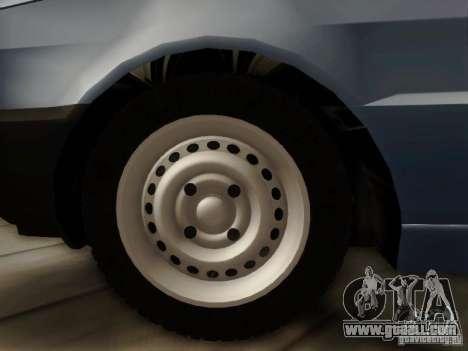 Fiat Premio Edit for GTA San Andreas back left view