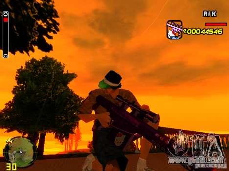 Hello Kitty weapon for GTA San Andreas fifth screenshot