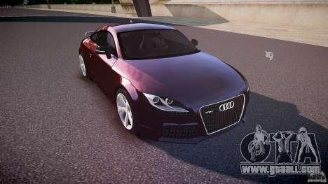 Audi TT RS v3.0 2010 for GTA 4 inner view