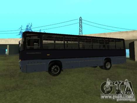 Ikarus C60 for GTA San Andreas left view