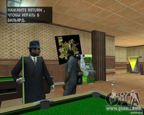 Salierys Bar for GTA San Andreas forth screenshot