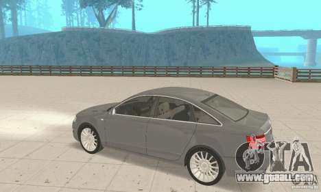 Audi A6 3.0 TDI quattro 2004 for GTA San Andreas inner view