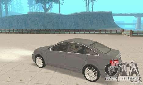 Audi A6 3.0 TDI quattro 2004 for GTA San Andreas inner view