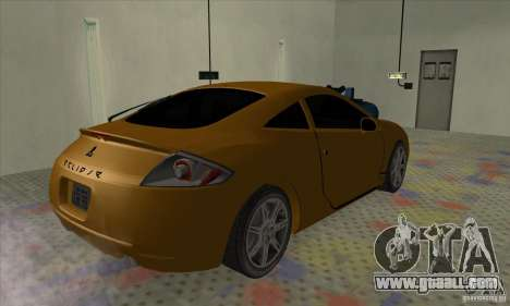 Mitsubishi Eclipse GT for GTA San Andreas left view