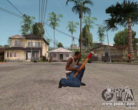 Hammer of Assassins Creed Brotherhood for GTA San Andreas